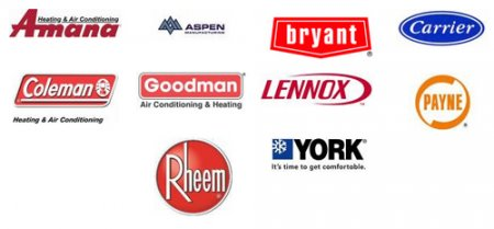 HVAC Equipment - Houston, Texas | Courtesy Air Conditioning & Heating - logos